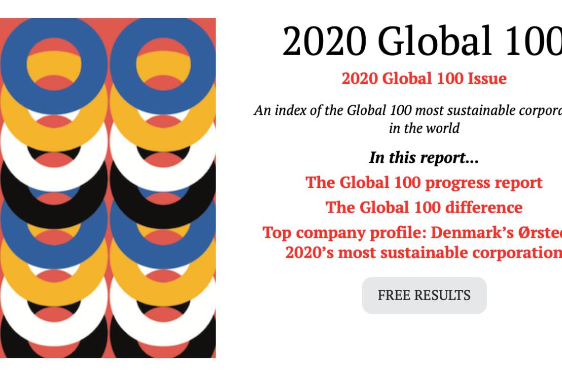 世界視点でみて、日本で一番サスティナブルな企業はどこか知ってますか?